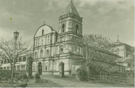 Circa 1966 Photo of Tayabas Church