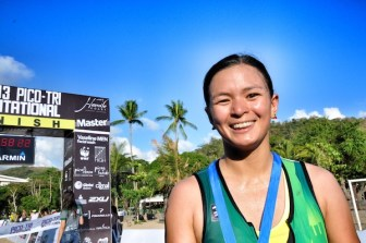 Female Elite Finishers from Team Sante Barley