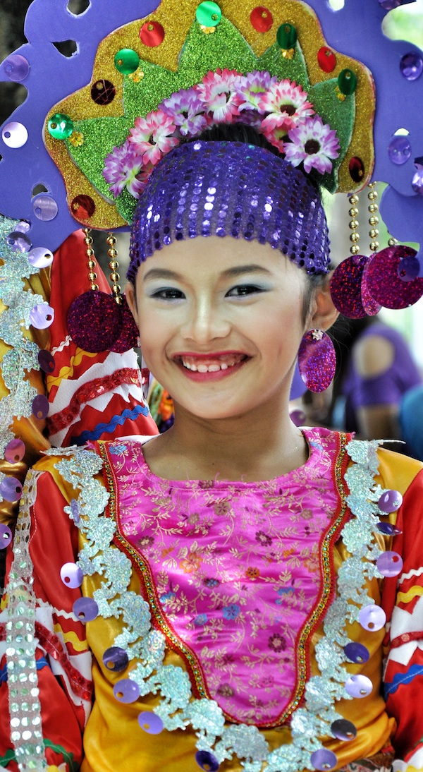 Festival Street Dancers from Mindanao