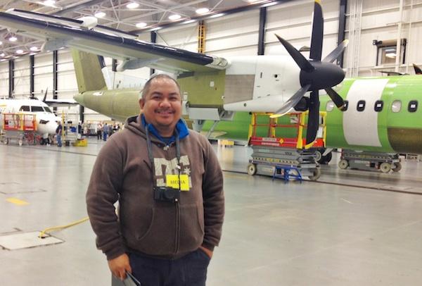 Melo Villareal in Bombardier Toronto