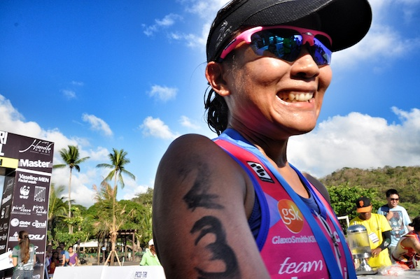 One of the top Female Finishers