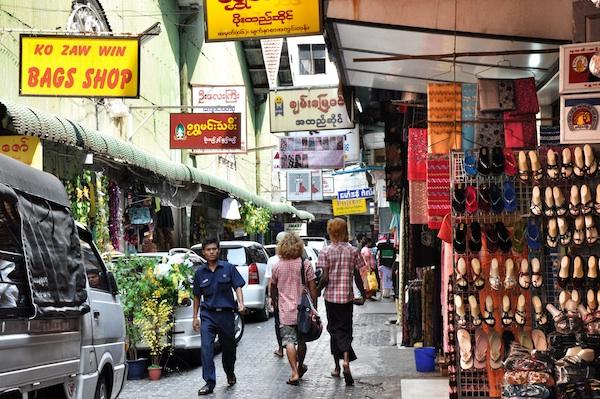 Retail Shops in Bogyoke Market