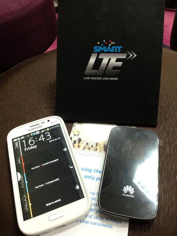 Smart Prepaid LTE Pocket Wifi