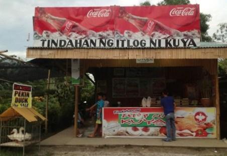 A store somewhere in Laguna