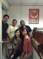 After our Radio Interview at Love Radio Lucena