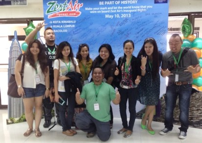 Bloggers at NAIA Terminal 4