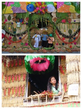 Colorful Decorated Houses in Lucban