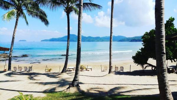 Duli Beach photo via Duli Beach Resort FB Page