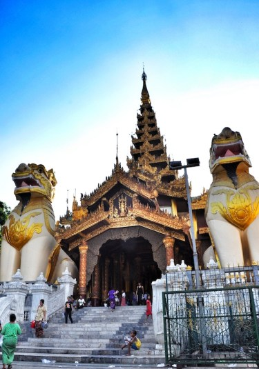 Entrance to the Shwedagon