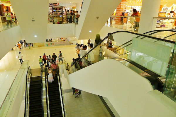Inside Suria Sabah