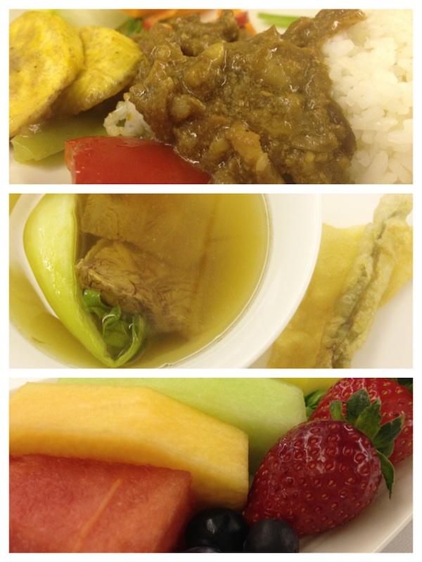 Mabuhay Class Inflight Meals