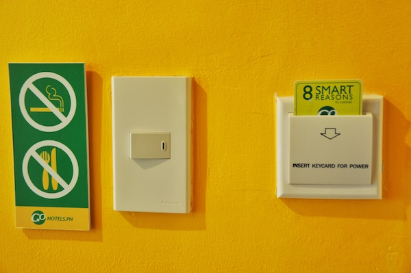 Magnetic Keycard and Power Switch
