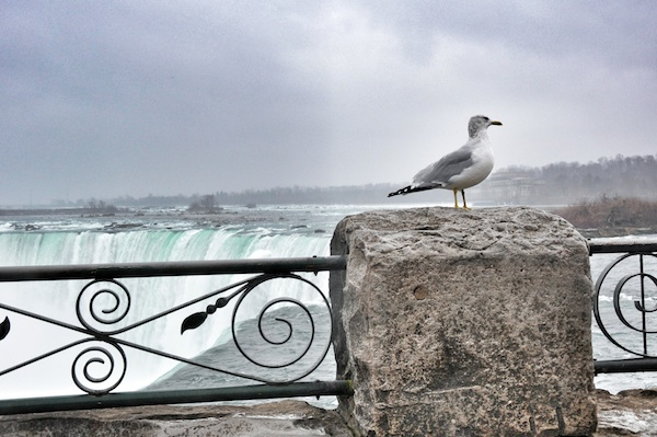 Niagara Falls View Deck in Ontario