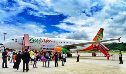 Zest Air Inaugural Flight to Kota Kinabalu in Sabah Malaysia