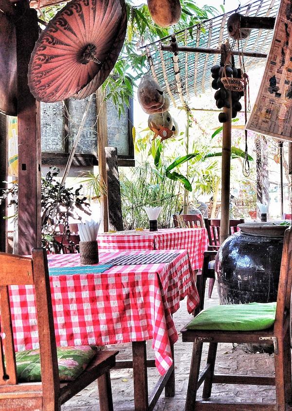 Al Fresco Restaurant Old Bagan Style