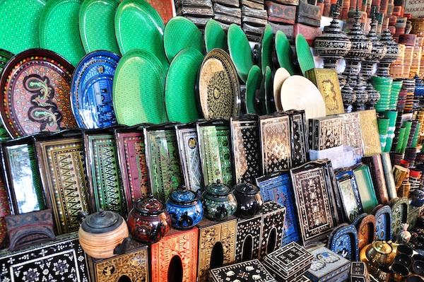 Lacquerware Souvenirs