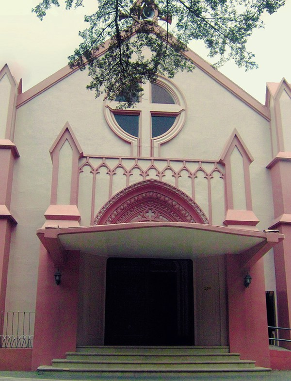 Pink Sisters Convent in Baguio photo by Tanya Umawing via Flickr