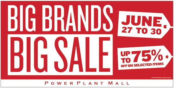 Power Plant Mall's Mid-Year Sale