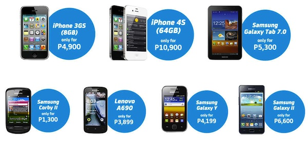 Smart Postpaid Freedom plan handsets