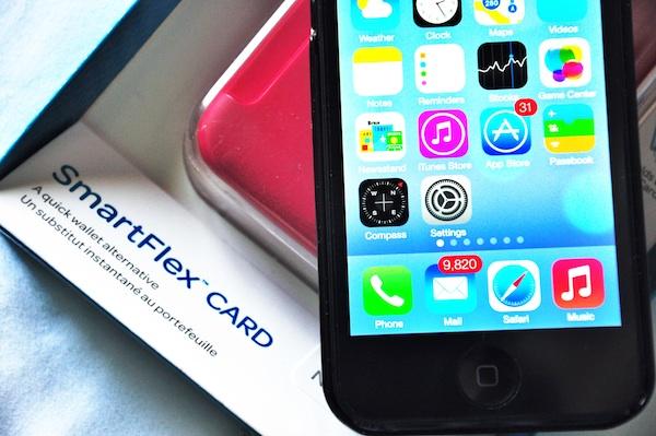 Smartflex Card Holder for iPhone 5