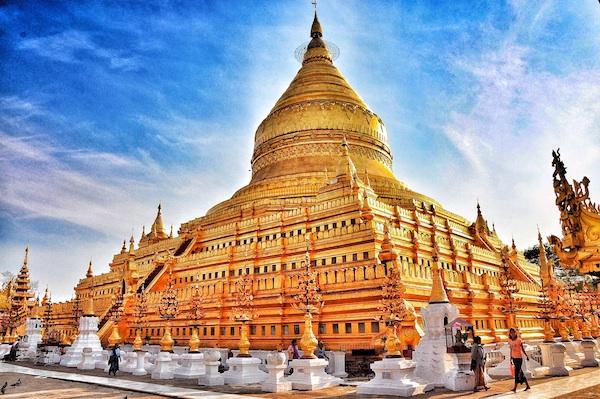 The Golden Shwezigon Pagoda