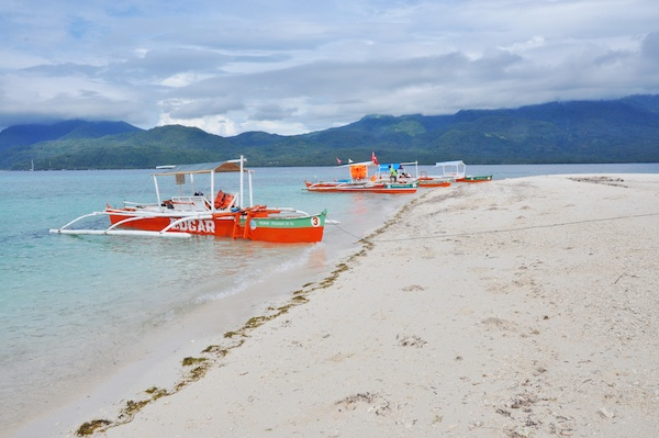 White Sand Beach in Camiguin