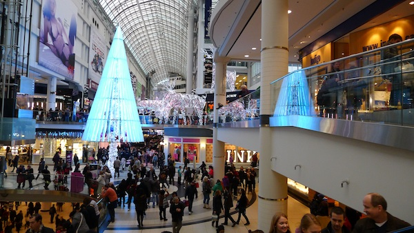 Downtown Toronto Eaton Centre