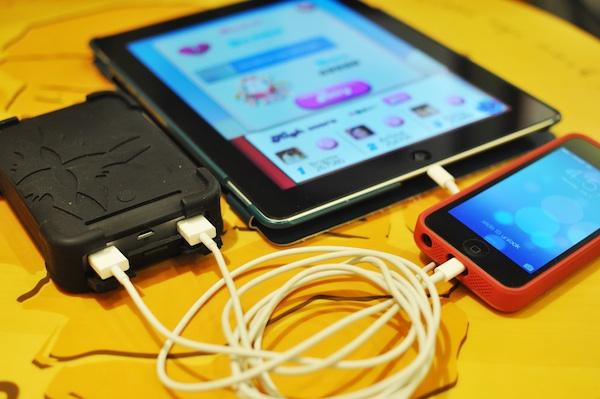 iBattz 12000 mAh Mobile Battstation Tough Pro Portable Charger