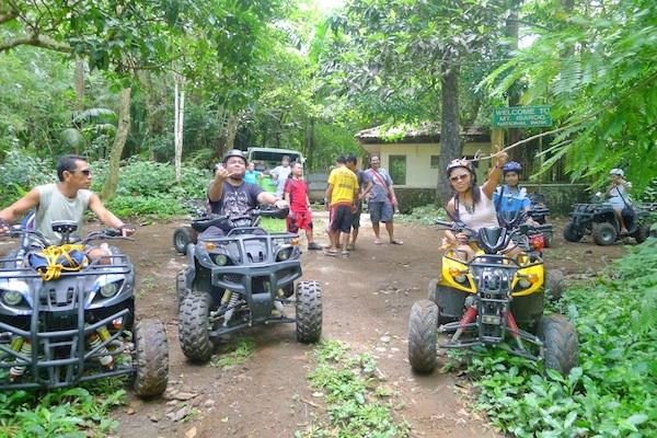 ATV Ride back to Panicuason Hotsprings