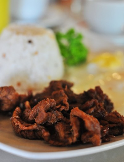 Beef Tapa Breakfast at the Verde Restaurant