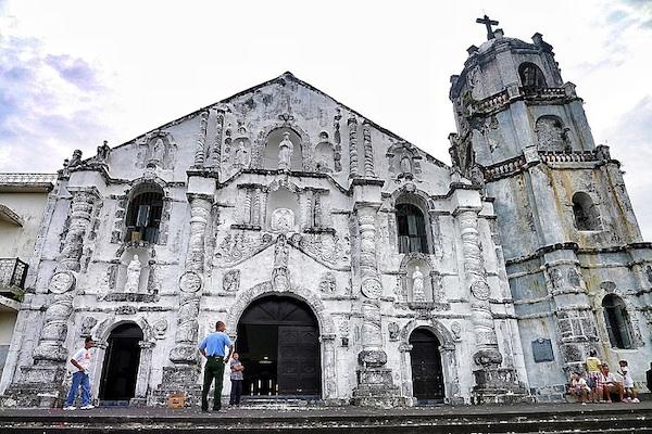 Daraga Church Facade