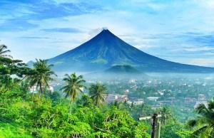 Majestic Mayon Volcano
