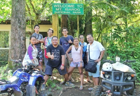Pinoy Travel Bloggers in Mount Isarog National Park