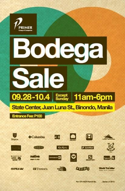 Binondo Primer Bodega Sale 2013