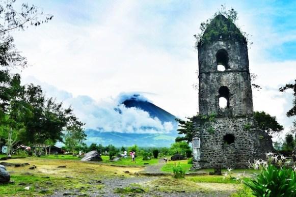 Cagsawa Ruins of Albay