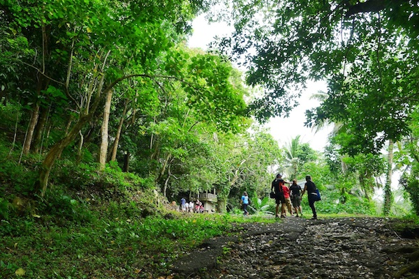 Enroute to Hoyop-hoyopan Cave
