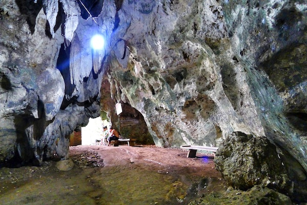 Huge Entrance of the Cave
