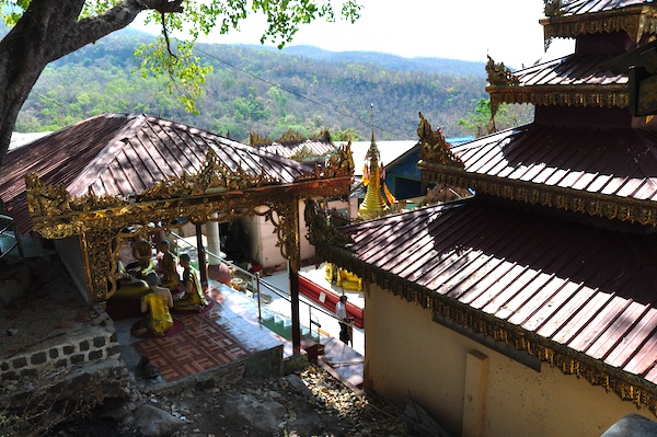 One of the Temples in Mount Popa