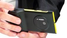 Nokia Lumia 1020 with Camera Grip Case