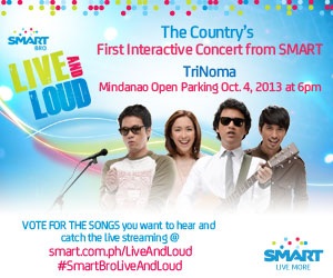Smart Bro Live and Loud Concert