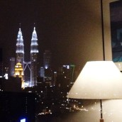 View from my Window at Night