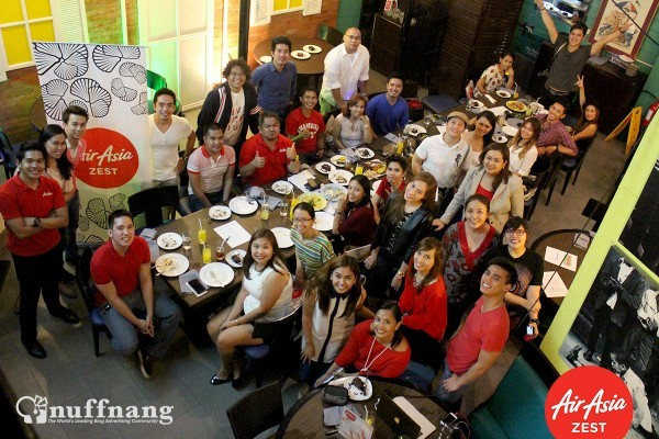AirAsia Zest Blogger Event in New Orleans BGC