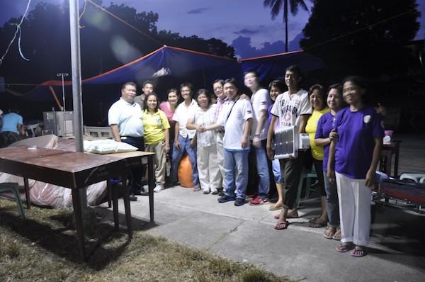 Bohol solar lights installation
