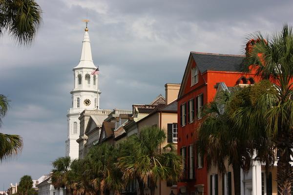 Broad Street in Charleston SC