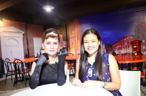 Cecille Ardiente meets her Idol-)