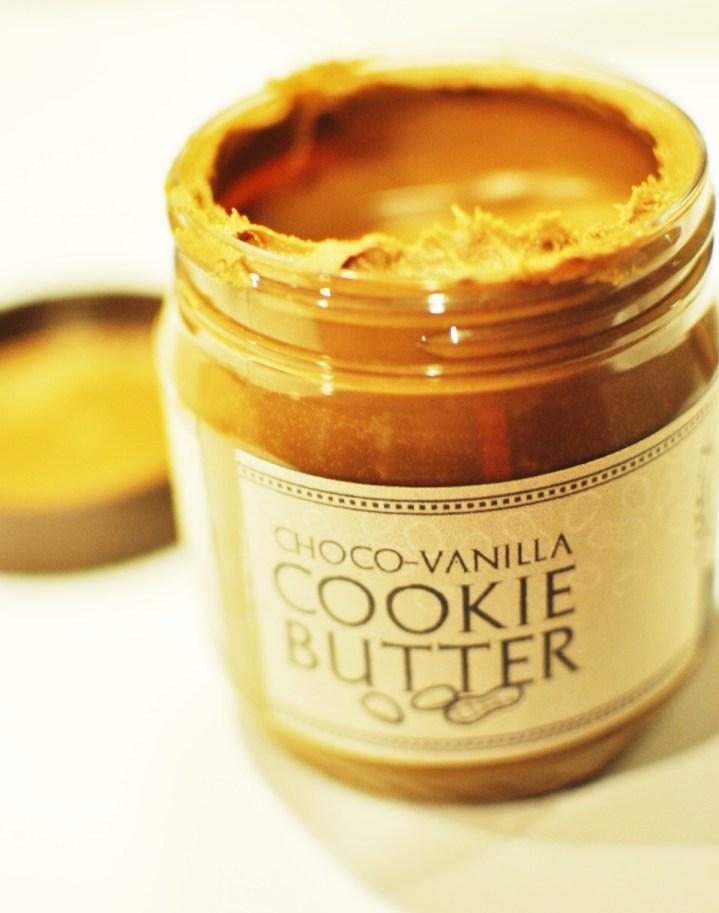 Choco-Vanilla Cookie Butter