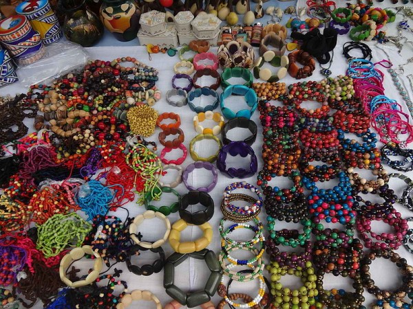 Jewelries from Otavalo Artisan Market