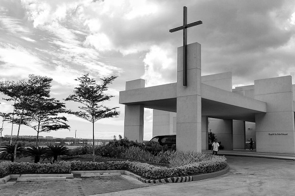 San Pedro Calungsod Chapel in Black and White
