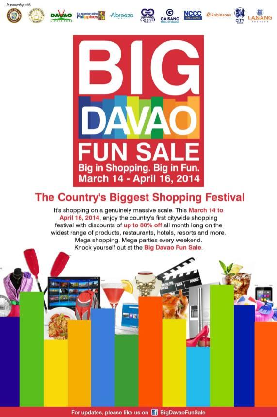 Big Davao Fun Sale 2014