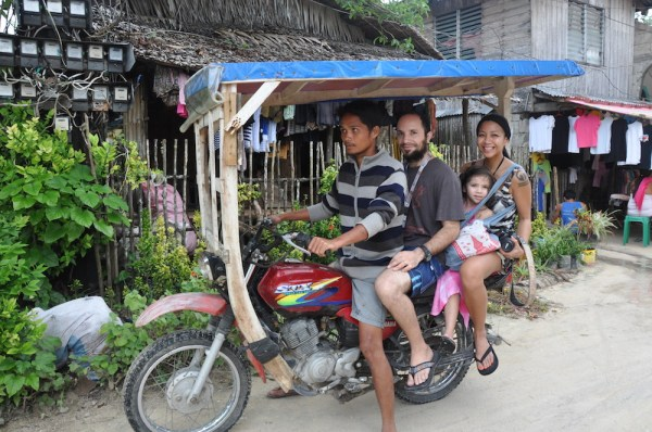 Habal-Habal ride in Siargao Island